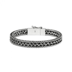 SILK Jewellery SILK Armband | 262 ARMBAND | MESH | ZILVER