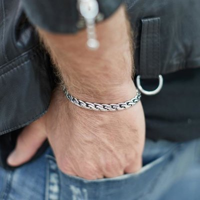 SILK Jewellery SILK Armband | 148 ARMBAND BREEZE | Zilver