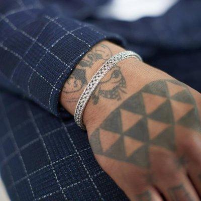 SILK Jewellery SILK Armband | 153 ARMBAND MESH | Zilver