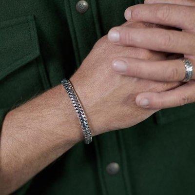 SILK Jewellery SILK Armband | 349 ARMBAND BOLD | Zilver