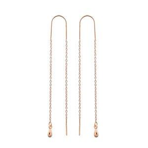 MIAB Jewels MIAB Oorbellen | Rose Goud | Double Line II