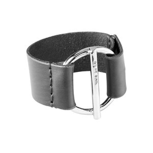UNOde50 UNOde50 Armband   WATT'S UP   BLACK   ZILVER   CHINA SS20