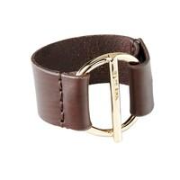 UNOde50 UNOde50 Armband | WATT'S UP | BROWN | VERGULD | CHINA SS20