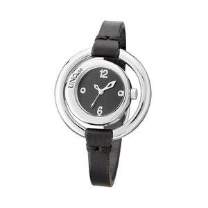 UNOde50 UNOde50 Horloge | TIME IS ON MY SIDE | ZILVER | ZWART