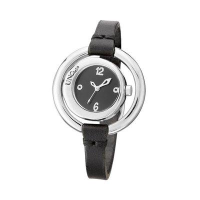 UNOde50 UNOde50 Horloge | TIME IS ON MY SIDE | ZILVER | ZWART | REL0142NGRNGR0U