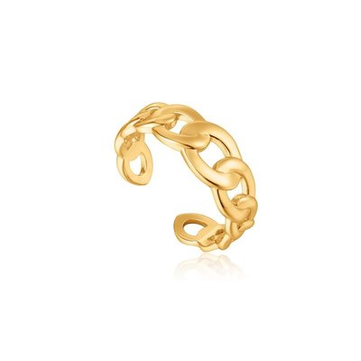 ANIA HAIE ANIA HAIE Ring | CHAIN REACTION | GOLD | R021-01G