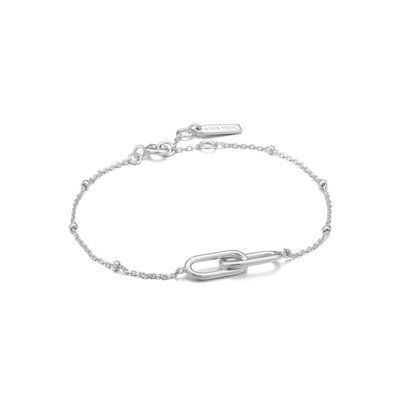 ANIA HAIE ANIA HAIE Bracelet | BEADED CHAIN LINK | ZILVER | B021-01H