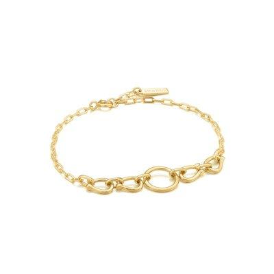 ANIA HAIE ANIA HAIE Bracelet | HORSESHOE LINK | GOLD | B021-04G