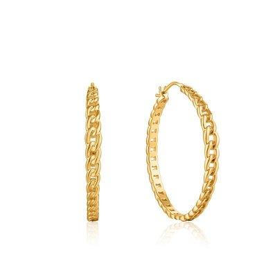ANIA HAIE ANIA HAIE Earrings | CURB CHAIN | GOLD | E021-06G