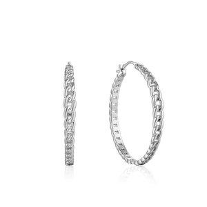 ANIA HAIE ANIA HAIE Earrings | CURB CHAIN | ZILVER