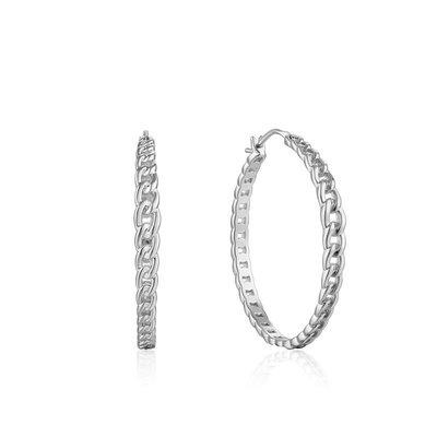ANIA HAIE ANIA HAIE Earrings | CURB CHAIN | ZILVER | E021-06H