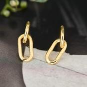 ANIA HAIE ANIA HAIE Earrings | CABLE LINK | GOLD | E021-01G
