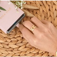 ANIA HAIE ANIA HAIE Ring | CHAIN REACTION | GOLD