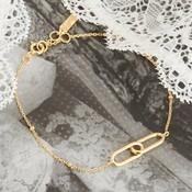 ANIA HAIE ANIA HAIE Bracelet | BEADED CHAIN LINK | GOLD | B021-01G
