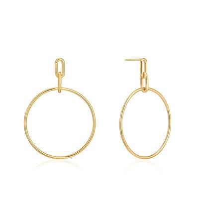 ANIA HAIE ANIA HAIE Earrings | CABLE LINK | GOLD | E021-07G