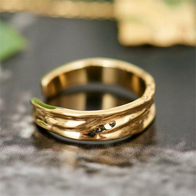 ANIA HAIE ANIA HAIE Ring | CRUSH | GOLD | R017-01G