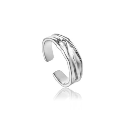 ANIA HAIE ANIA HAIE Ring | CRUSH | ZILVER | R017-01H