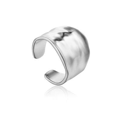 ANIA HAIE ANIA HAIE Ring | CRUSH WIDE | ZILVER | R017-03H