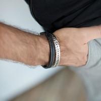 SILK Jewellery SILK Armband | 420 ARMBAND | CHEVRON | Zilver