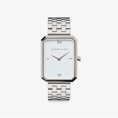 KAPTEN & SON KAPTEN & SON Horloge | GRACE ZILVER | STEEL