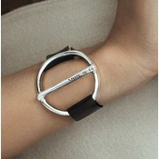 UNOde50 UNOde50 Armband   WATT'S UP   BLACK   CHINA   PUL1899MTLNGR0M