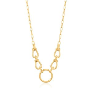 ANIA HAIE ANIA HAIE Necklace | HORSESHOE LINK | GOLD