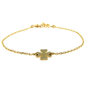 LILLY LILLY Armband | Goldies | Cloverleaf | 14 Karaats