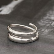 ANIA HAIE ANIA HAIE Ring | LUXE TWIST | ZILVER | R024-02H