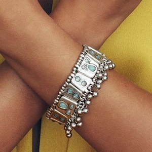 UNOde50 UNOde50 Armband | MRS RANI | ZILVER | INDIA SS20