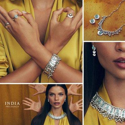 UNOde50 UNOde50 Ring | MRS BEGUMS SOUL | INDIA | ANI0633BLNMTL