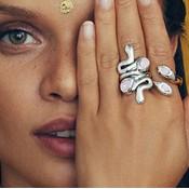 UNOde50 UNOde50 Ring | MRS ARUNA | Zilver | INDIA | ANI0632RSAMTL