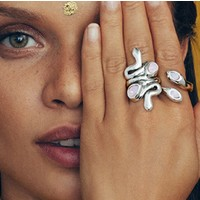 UNOde50 UNOde50 Ring | MRS ARUNA | Zilver | INDIA | SS20