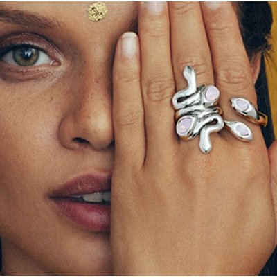 UNOde50 UNOde50 Ring | MRS ARUNA | Zilver | INDIA | ANI0641RSAMTL