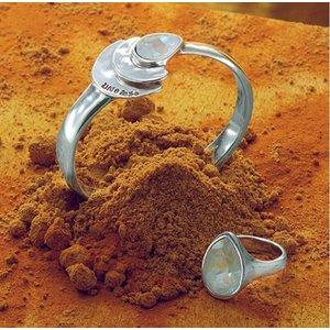 UNOde50 UNOde50 Armband | MRS BEGUM | ZILVER | INDIA SS20