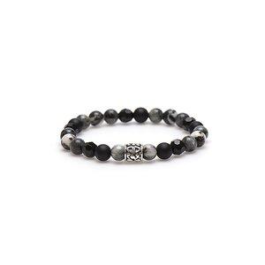 KARMA Jewelry KARMA Armband | Mercury Silver Bead