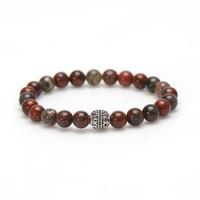 KARMA Jewelry KARMA Armband | Red Dragon Logo Bead