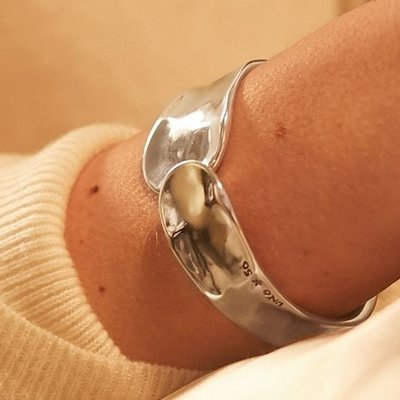 UNOde50 UNOde50 Armband | WAVES | ZILVER | SS19 | PUL1806MTL0000M