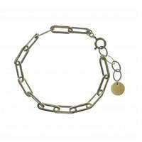 BLINCKSTAR BLINCKSTAR Armband | Sterling Zilver | XL Rechte Schakel | SS20