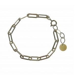 BLINCKSTAR BLINCKSTAR Armband   Sterling Zilver   XL Rechte Schakel   SS20