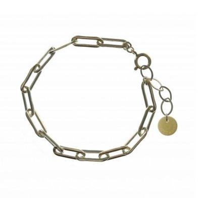 BLINCKSTAR BLINCKSTAR Armband | Sterling Zilver | XL Rechte Schakel | SS20 | 2001A75