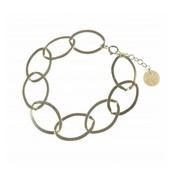 BLINCKSTAR BLINCKSTAR Armband | Sterling Zilver | XL Gladde Schakel | SS20 | 2001A72