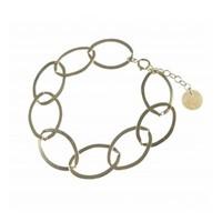 BLINCKSTAR BLINCKSTAR Armband | Sterling Zilver | XL Gladde Schakel | SS20