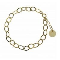 BLINCKSTAR BLINCKSTAR Armband | Goldfilled | Gladde Schakel | SS20