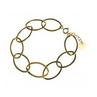BLINCKSTAR BLINCKSTAR Armband | Goldfilled | XL Gladde Schakel