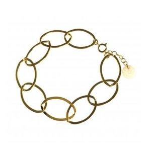 BLINCKSTAR BLINCKSTAR Armband | Goldfilled | XL Gladde Schakel | SS20