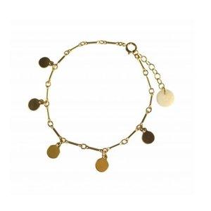 BLINCKSTAR BLINCKSTAR Armband | Goldfilled | Muntjes | SS20