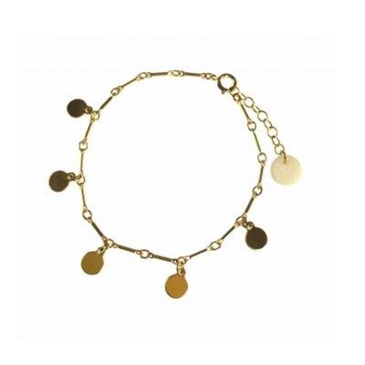 BLINCKSTAR BLINCKSTAR Armband | Goldfilled | Muntjes | SS20 | 2001A68