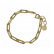 BLINCKSTAR BLINCKSTAR Armband | Goldfilled | Heavy Closed Forever Link | SS20 | 2001A67
