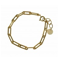 BLINCKSTAR BLINCKSTAR Armband | Goldfilled | Heavy Closed Forever Link | SS20