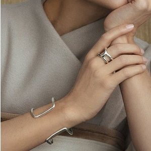 UNOde50 UNOde50 Armband | SHORTCUT | ZILVER | CHINA SS20